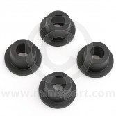 MSLMS0528 Nylon bushes for the Mini bottom suspension arms  - set
