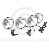 MSLMS0560S Rover Mini Cooper 4 x drive/spot lamp complete kit. (XBN10008) (XBN100280)