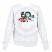 3 Minis Sweatshirt in Heather Grey - Mini 60