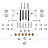 Classic Mini Cylinder Head Ancillary Stud and Nut Kit