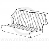 Classic Mini Rear Seat Cover Kit