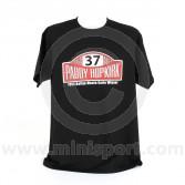 Paddy Hopkirk T Shirt Rally Plaque Logo