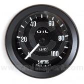 SMIPG1310-00B Smiths Mechanical Oil Pressure Gauge - Black