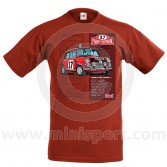 Paddy Hopkirk 33 EJB T Shirt - Red