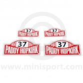 Paddy Hopkirk Sticker Pack