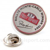 Paddy Hopkirk Monte Carlo Lapel Badge