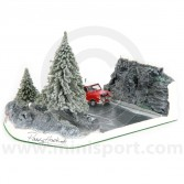 Paddy Hopkirk Diorama Col Du Turini - Limited to 37 pieces