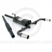 Sportex Dual Exit Twin Silencer Exhaust System - 2'' Tailpipes