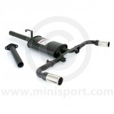 Sportex Dual Exit Exhaust System - 2'' Tailpipes - Catalyst back