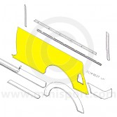 MCR21.14.00.07 LH Rear Side Panel Mini Traveller Mk1-2