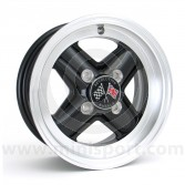 Mini 5 x 12 Revolution Wheel Black