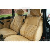 Mini 93-95 Leather Front Seat Cover Kit