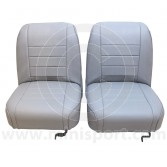 Riley Elf and Wolseley Hornet Mk1 & 2 Leather Front Seat Covers