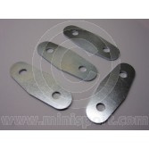 Mini Door Hinge Plates  - set 4 - Plated