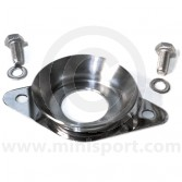 SMB36 Mini Clubman bonnet catch complete with fittings, manufactured in polished stainless steel