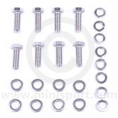 Rear subframe radius arm bracket fitting kit for Classic Mini