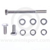 Near side radiator mount fitting kit for classic Mini models
