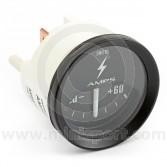 Smiths Mini ammeter 60/60 gauge - Black face with black bezel