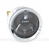 Smiths Fuel Gauge - Black face with Chrome Ring