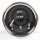 SMIBT2204-11B Mini Smiths Water Temperature Gauge - Electric - Black face