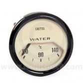 BT2240-04B Smiths Water Temperature Gauge magnolia face & black bezel