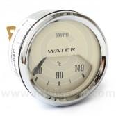 BT2240-04C Smiths Water Temperature Gauge magnolia face & chrome bezel
