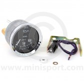 Smiths Oil Pressure Gauge - Mechanical - Black with Chrome ring