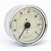 Smiths Mini Tachometer 7000 Rpm - Magnolia/Chrome