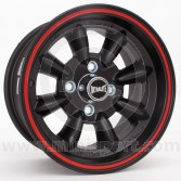 "6 x 13"" Ultralite Mini Wheel - Black"