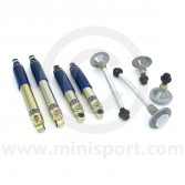 SUSKIT2L Mini Sports suspension kit with GAZ lowered adjustable shock absorbers