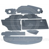12 Piece Interior Panel Kit for Mini 1275GT RHD 69-75