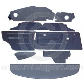 12 Piece Interior Panel Kit for Mini Clubman Saloon RHD 76-80