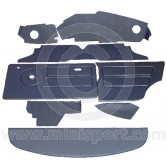 12 Piece Interior Panel Kit for Mini Clubman Saloon LHD 76-80