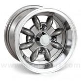 """Gunmetal 6x10"""" Minilight wheel for Classic Mini"""
