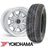 "5"" x 10"" Minator Silver Alloys - Yoko A008 Package"