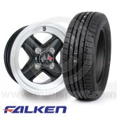 "5"" x 12"" Revolution Black - Falken ZE914 Package"