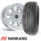 "7 x 13"" Ultralite Silver - Nankang AS-1 Package"