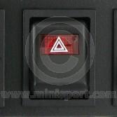 Dash Switch - MK4 - 1976-01 - Hazard - 6 rounded pin