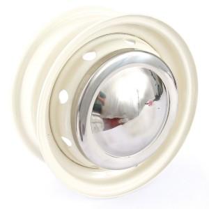 Chrome Wheel Hub Cap - Suit Original Mini   Cooper