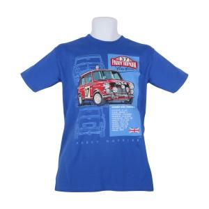 33 EJB Mini T Shirt - Royal Blue