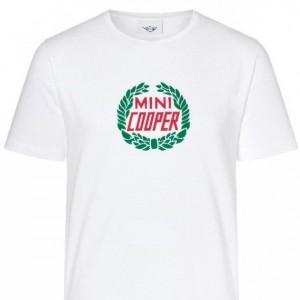MINI Cooper Laurel T Shirt - White