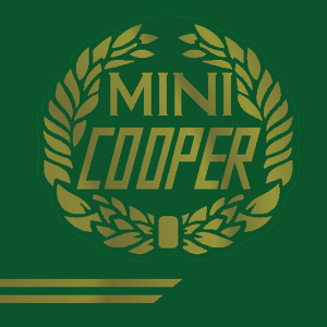 John Cooper Styling Kit - Laurels & Side Stripes - Gold
