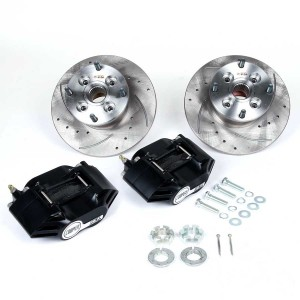 Cooper 8.4'' Brake Kit - Black Alloy Calipers