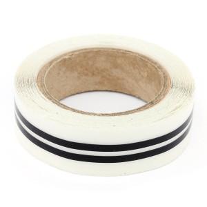 Cooper Side Stripes - Black
