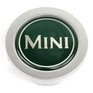 """Mini Centre Cap - Green - 13"""" Wheels"""