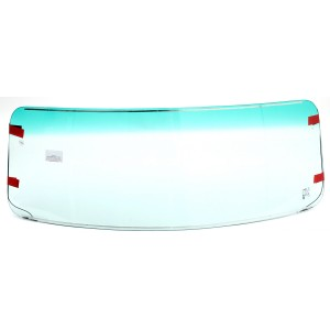 Heated Front Windscreen - Green Top Tinted Laminated