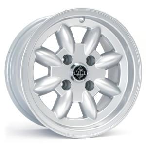 Minator 6'' x 13'' Silver Wheel