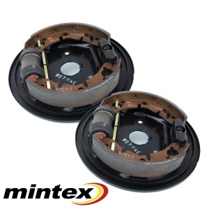 Rear Drum Brake Assemblies with Mintex - All Minis