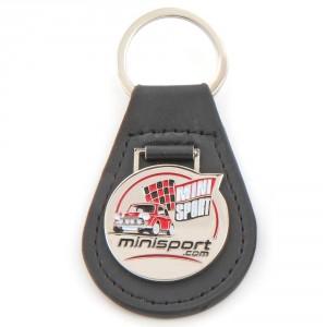 Mini Sport Leather Key Ring
