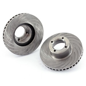 Brake Discs - 7.9 Grooved Vented, pair
